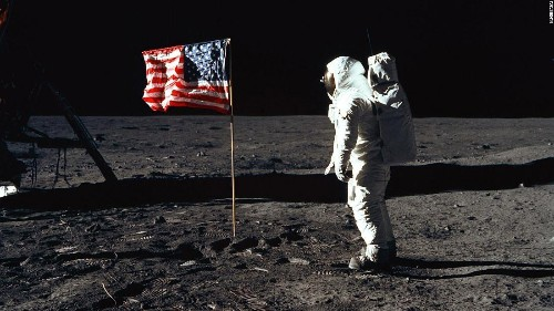 Neil Armstrong and Edwin 'Buzz' Aldrin became the first men to walk on the moon 51 years ago Monday