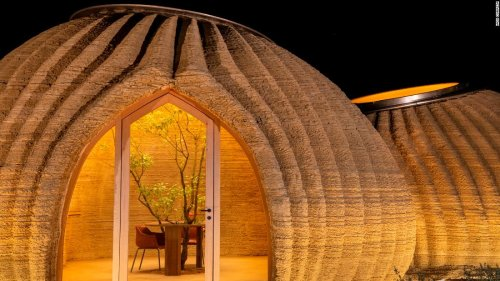 Is this 3D-printed home made of clay the future of housing?