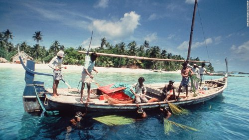 What the Maldives looked like before mass tourism