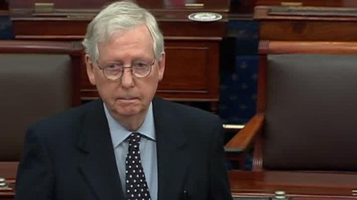 Watch McConnell block effort to quickly increase stimulus checks