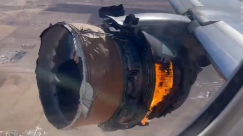 Engine on United Airlines flight was showing signs of metal fatigue, NTSB says