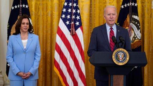 Dow surges after Biden announces infrastructure agreement