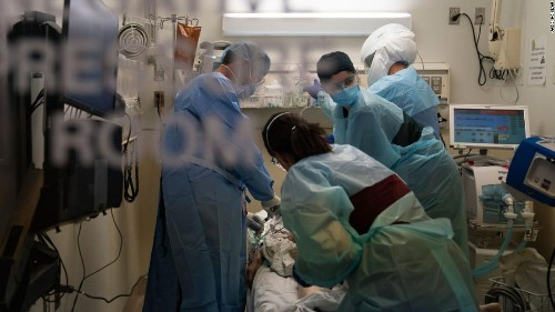 Hospitals stretched beyond 'reasonable limit' as number of Covid-19 patients reaches 100,000