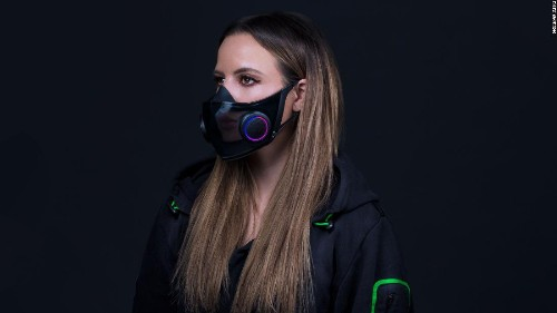 This new face mask ventilates the air and amplifies your voice