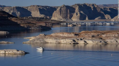 Lake Powell hits lowest level on record in climate change-fueled water crisis   CNN