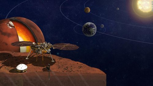 Secrets of Mars' core revealed for the first time   CNN