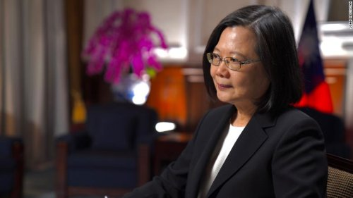Exclusive: Taiwan's President confirms presence of US military trainers on the island