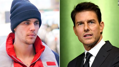 Justin Bieber has challenged Tom Cruise to a fight and we are so confused - CNN
