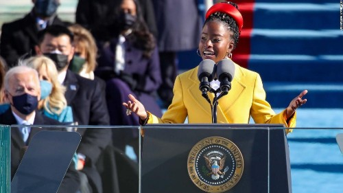 Amanda Gorman calls on Americans to 'leave behind a country better than the one we were left' in powerful inauguration poem