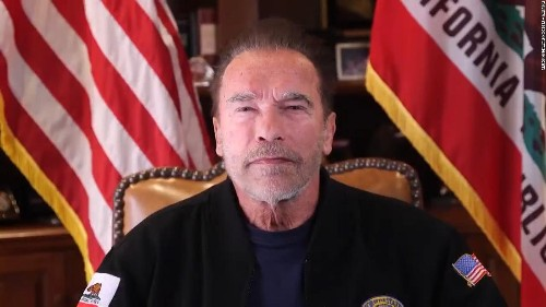 Hear Arnold Schwarzenegger's message on Capitol riots