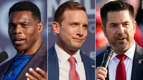 Trump endorsed Herschel Walker, Max Miller and Sean Parnell. They're now facing scrutiny over their pasts