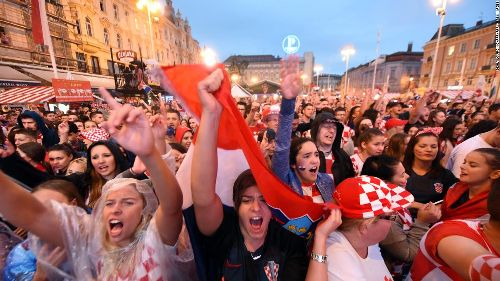 'Historic,' 'Indescribable:' Croatia reacts to reaching first World Cup final