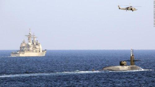 US Navy sails nuclear submarine through Strait of Hormuz