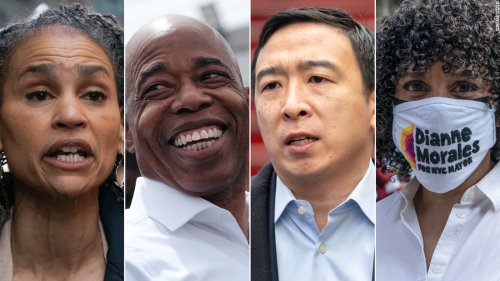 Opinion: NYC mayoral candidates aimed to dent Andrew Yang's lead
