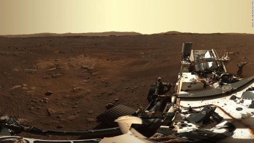 New Mars image from rover landing site shows the red planet in high definition