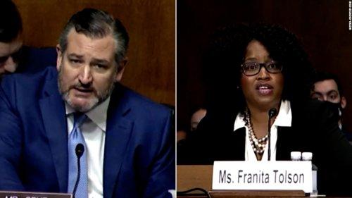 Law professor tells Cruz Texas' voter ID law is racist in fiery hearing exchange