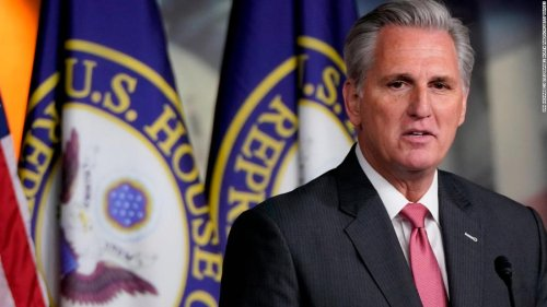 Kevin McCarthy just tried to gaslight the entire country on the 2020 election | CNN Politics