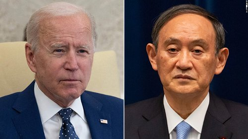 Biden to use meeting with Japan's prime minister to send 'clear signal' to China - CNN Politics