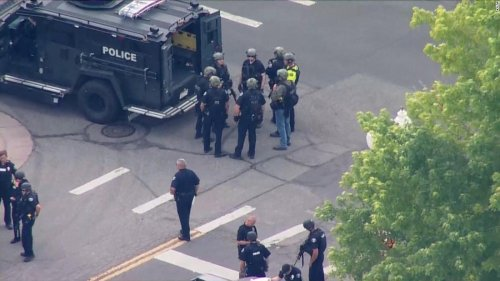 A Colorado police officer was among three people killed in a shooting in the city of Arvada