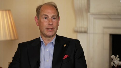 'That's families for you.' Prince Edward discusses the Sussexes, the bereaved Queen and his father's legacy