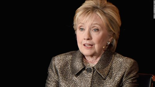 Clinton on Russian election meddling: 'More effective theft even than Watergate' | CNN Politics
