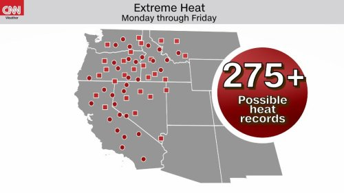 Misery continues as record high heat soars, worsening the Western drought