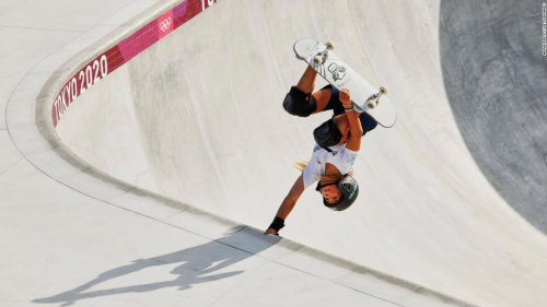 Teenage skateboard sensation Sky Brown saddened by plight of Afghan girls