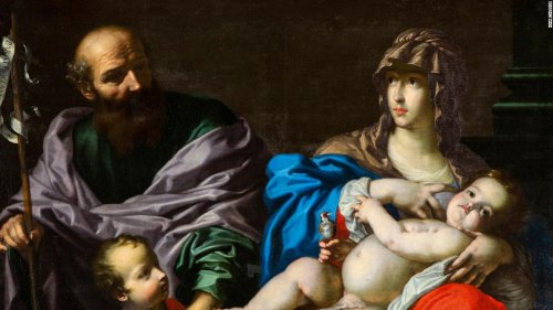 College professor recognizes 17th century masterpiece hanging in a nearby church