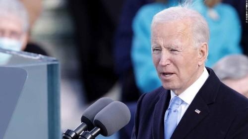 Watch Joe Biden's full inauguration speech
