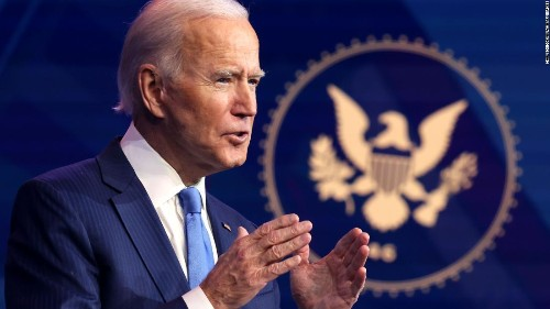 Biden's favorability on the rise as majority of Americans think he's handling transition well