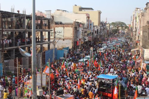 Indian Prime Minister Modi's political party is holding rallies despite Covid-19 crisis