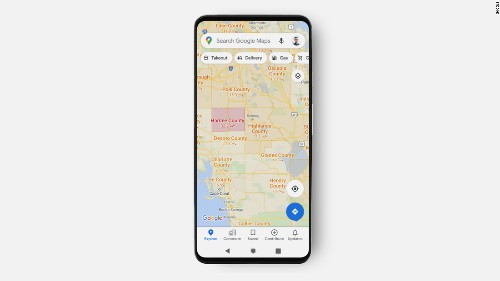 Google updates Maps to show how bad Covid is in your area