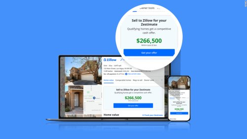 Zillow will now make cash offers for homes based on its 'Zestimates'