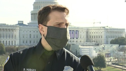 Man charged with assaulting a police officer during US Capitol riots is denied bail