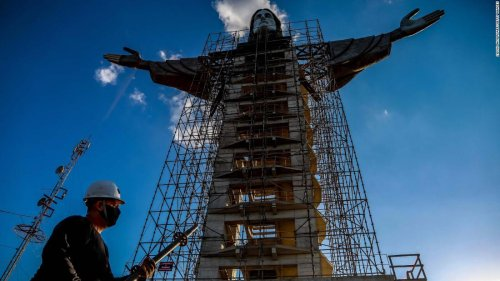 New Christ statue in Brazil will be taller than Rio's