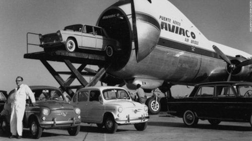 Car ferries in the skies: The rise and fall of the Aviation Traders Carvair