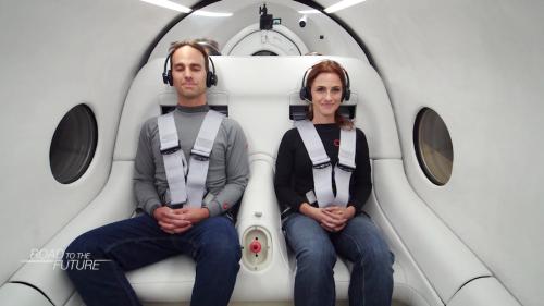 Virgin Hyperloop's CEO discusses the start of human trials