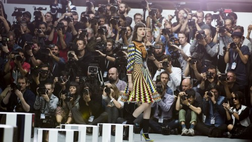 Secrets of the fashion week pit: Photographing the other side of the runway - CNN Style
