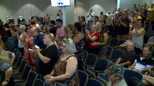 Attendee at St. Louis County Council vote to overturn mask mandate tests positive for Covid-19