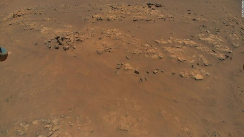 Ingenuity helicopter spies intriguing features on Mars during record-breaking flight