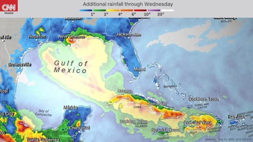 Marco downgraded to a tropical storm as 'unprecedented' back-to-back threats target Louisiana