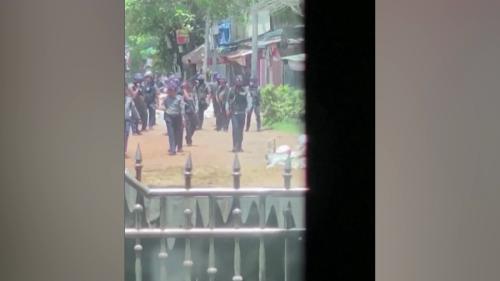 Eyewitnesses recount bloody crackdown in Bago, Myanmar