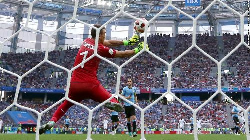 Goalkeeping calamity helps France qualify for semifinals