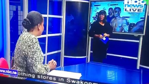 'Jessica, we are live': Excruciating on-air gaffe goes viral