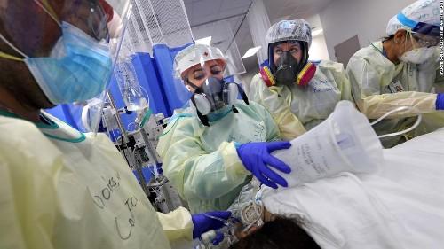 US surpasses 4 million reported coronavirus cases as hospitalizations near record