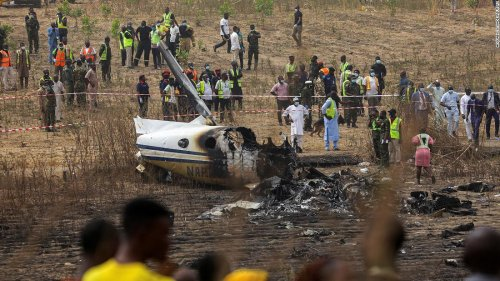 Nigeria crashed aircraft was on rescue mission for kidnapped schoolchildren