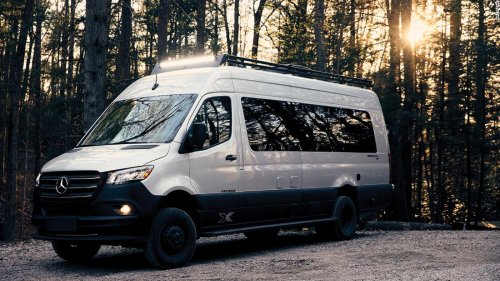 Airstream unveils a camper van that you can take off-road