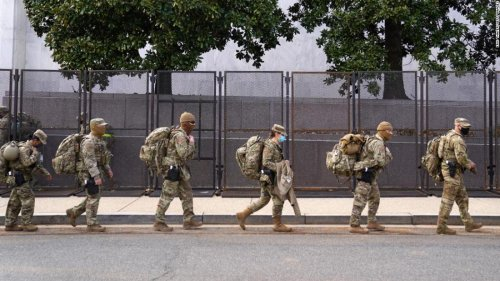 National Guard unit starts to make cuts after Congress fails to pay for Capitol security mission