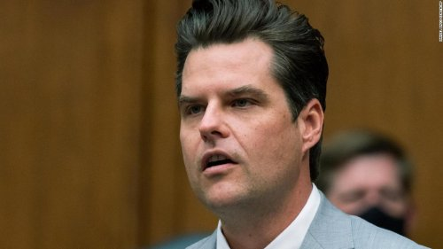 Gaetz does damage control, telling GOP colleagues he's been treated unfairly