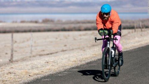 'Iron Cowboy' pushes the limits of human endurance